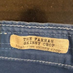 Ag Adriano Goldschmied Jeans - AG The Farrah Skinny Crop